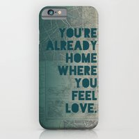 iPhone Cases featuring Home by Leah Flores