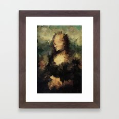 Panelscape Iconic - Mona Lisa Framed Art Print