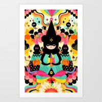 Magical Friends Art Print