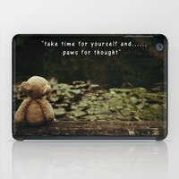 Paws For Thought iPad Case