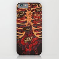 iPhone & iPod Case featuring Anatomical Study - Day of the Dead Style by Steve Simpson