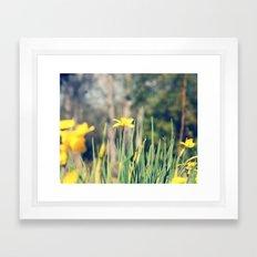 First Hint of Spring Framed Art Print