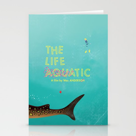 The Life Aquatic Stationery Card