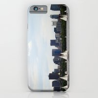 iPhone & iPod Case featuring Boston skyline by Louise