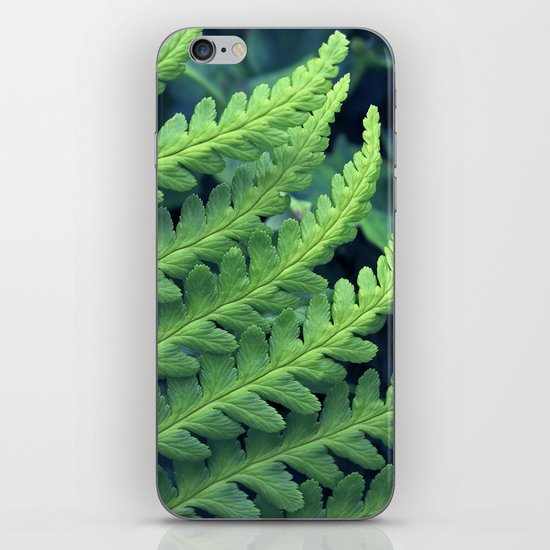green fern abstract VII iPhone & iPod Skin
