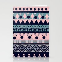 PASTEL NORDIC TRIBAL II Stationery Cards