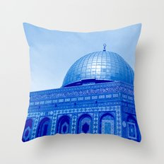 Dome Of The Rock, Jerusa… Throw Pillow