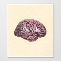 Bless this Mess. Canvas Print