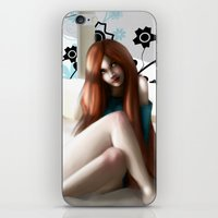 Angela´s Wait iPhone & iPod Skin