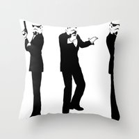 Trooper Crew Throw Pillow