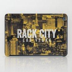 Black Yellow Cool Rack City Las Vegas Photography iPad Case