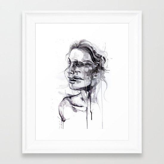 Tremore Framed Art Print