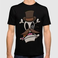 Jolly Bones Mens Fitted Tee Black SMALL