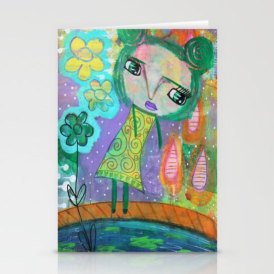 Dreaming of Giverney Stationery Card