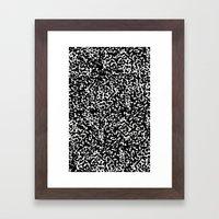 Decomposition Framed Art Print
