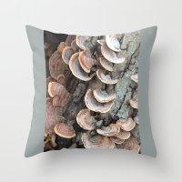 Fungi III Throw Pillow