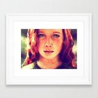 Look at me... Framed Art Print