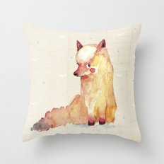 babyfox Throw Pillow