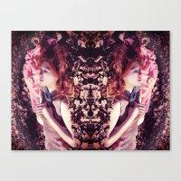Ginger sleeping beauty  Canvas Print