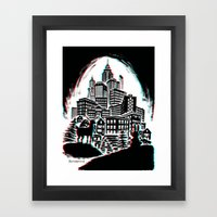 You Can't Stop Progress in 3D Framed Art Print