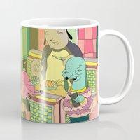 Eating At Johnny´s Mug