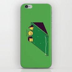 Hill race iPhone & iPod Skin