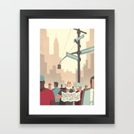 Day Trippers #2 - Lost Framed Art Print