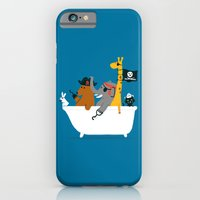 iPhone & iPod Case featuring Everybody wants to be the pirate by Budi Kwan
