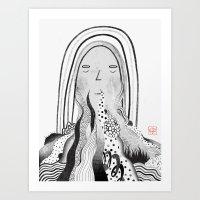 Consumed Art Print