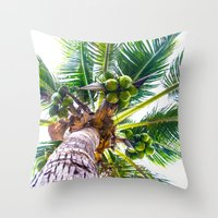 How About Those Coconuts Throw Pillow