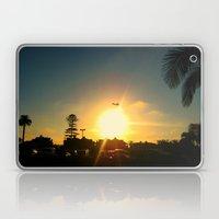 Air Plane In The Sun Laptop & iPad Skin