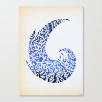 - atlantic - Canvas Print