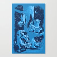 Children of the Night Canvas Print