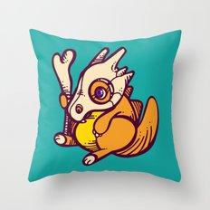 Poke A Derp 4 Throw Pillow