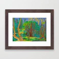 Il Bosco (The Forest) Framed Art Print