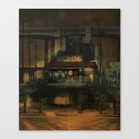 The Hideaway Canvas Print