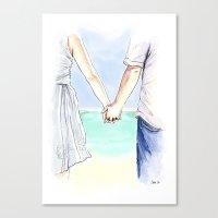 Katie & Tom Canvas Print