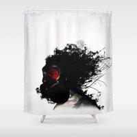 Ghost Warrior Shower Curtain
