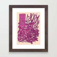 Find Value in Wild Spaces Framed Art Print