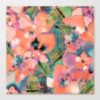 Tropicallista Peach Canvas Print