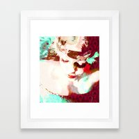 PLUME Framed Art Print