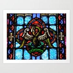 Rising From Glass Art Print