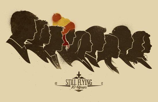 Still Flying Canvas Print