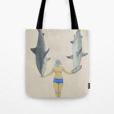 The Shark Charmer Tote Bag