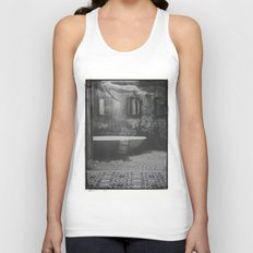 The floating woman Unisex Tank Top
