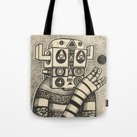 Dream Of Blue Planet Tote Bag