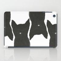 Black Cats iPad Case