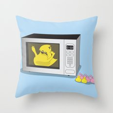 Where My Peeps At Throw Pillow