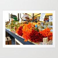 Market Place Art Print