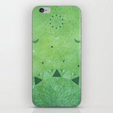 Emerald Daisy Mandala iPhone & iPod Skin